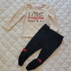 🐆 Little Lass Lovely leopard little girl outfit
